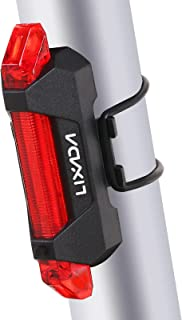 Yorten USB Rechargeable Bicycle Light Bike Tail Light Waterproof Cycling Rear Back Light Tail Rear Safety Warning Light Lamp