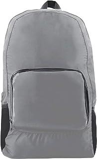 Giftology Unisex Foldable Backpack - Polyester, Grey
