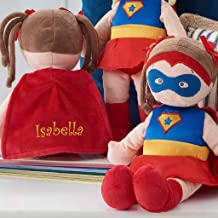 Personalized Dibsies Super Hero Doll - 14 Inch (Brunette Doll)