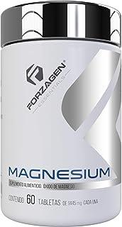 Forzagen Essentials Magnesium - 60 Tabletas | Oxido de