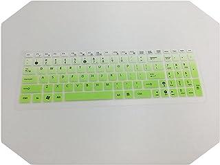 for asus X543US X543MA X543 X554L X554LS X554LJ X554LS X554LJ X554LSのための15インチノートブックキーボード保護キーボードカバー -fadegreen