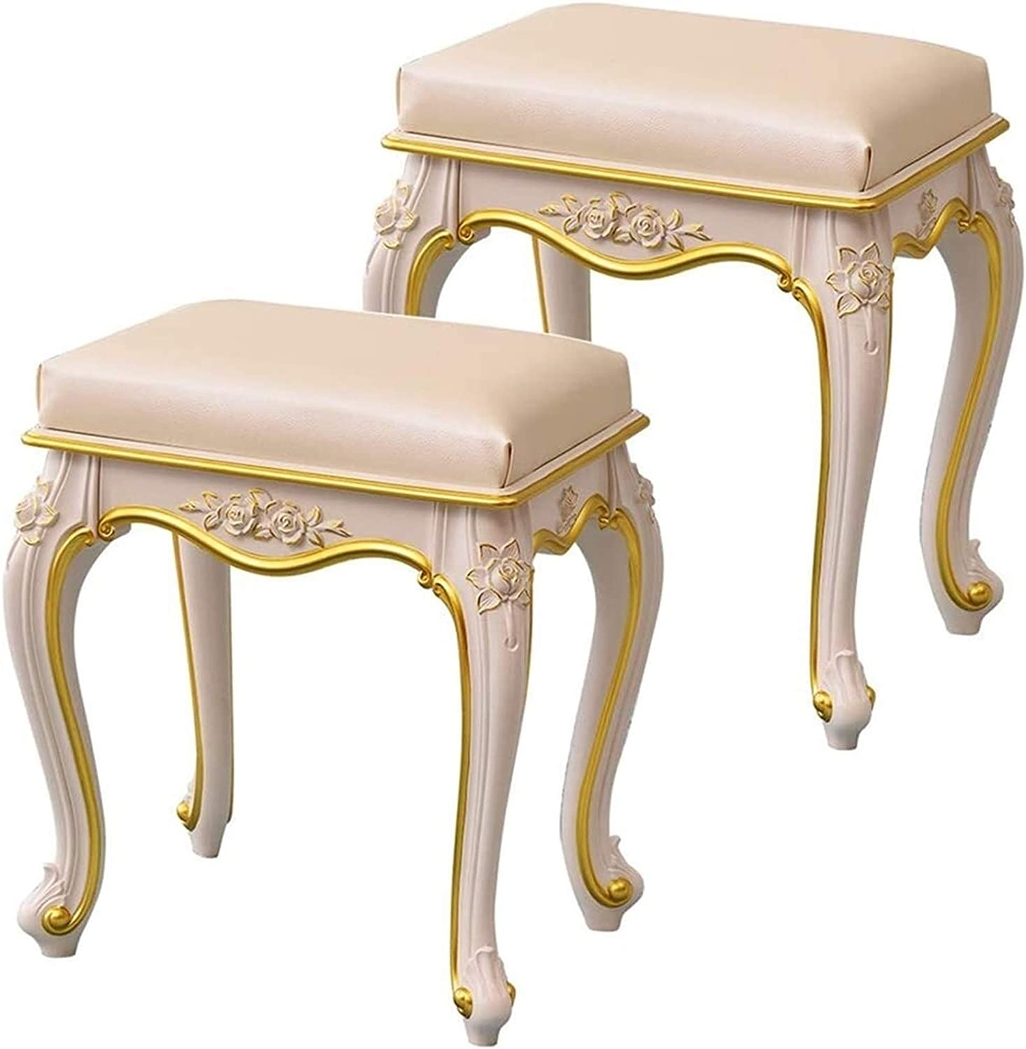 Max 72% OFF WEIJINGRIHUA Foot Stool Complete Free Shipping Footstools Vanity White Make Small