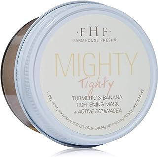 FarmHouse Fresh Mighty TightyTurmeric & Banana Tightening Mask, 3.2 Fl Oz