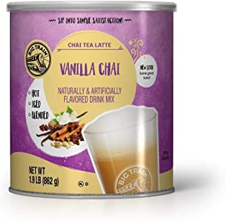Big Train Chai Tea, Vanilla, 30.4 Ounce
