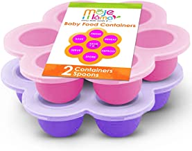 Best Homemade Baby Food Storage Container Freezer Trays – Reusable Food Container..
