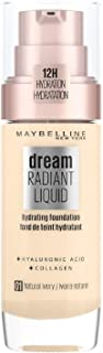 Maybelline Dream Satin Liquid Foundation with Hydrating Serum - Natural Ivory 01