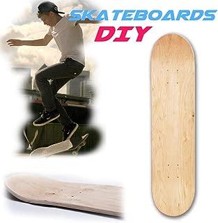 voloki  8 Capas 8 Pulgadas en Blanco Tabla de Skate