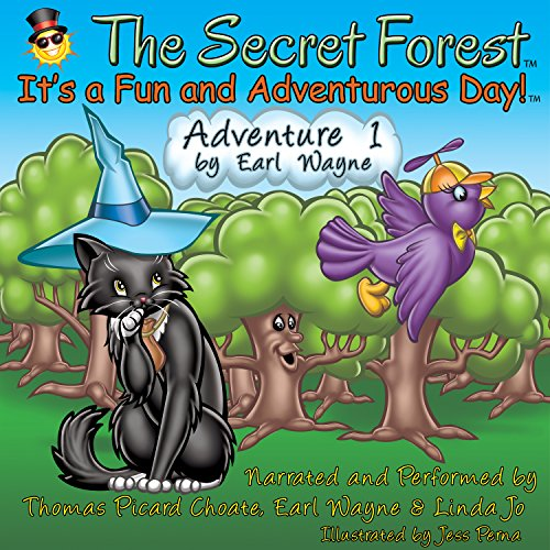 The Secret Forest. Adventure #1 audiobook cover art