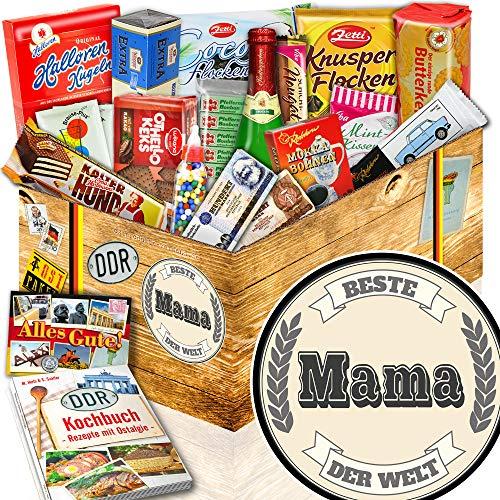 Beste Mama + Geburtstagsgeschenk für die Frau + Süßes Ostpaket