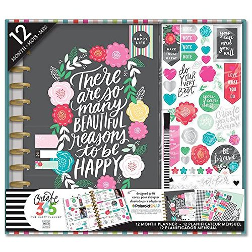 NEW MAMBI Create 365 The Happy Planner Magnetic Page Clips Grateful Erin Condren