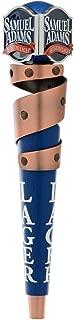 Sam Adams Premium Boston Larger Coper Ribbon Tap Handle