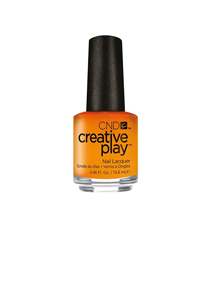 汚染する止まる接ぎ木CND Creative Play Lacquer - Apricot in the Act - 0.46oz / 13.6ml
