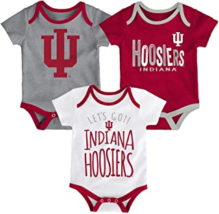 Outerstuff Indiana Hoosiers Tailgater Baby Boys 3-Piece T-Shirt Set