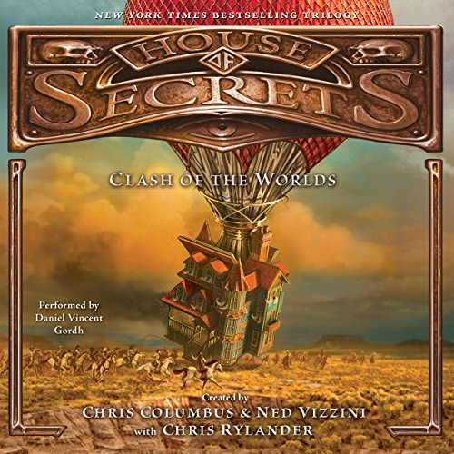 House of Secrets: Clash of the Worlds audiobook cover art