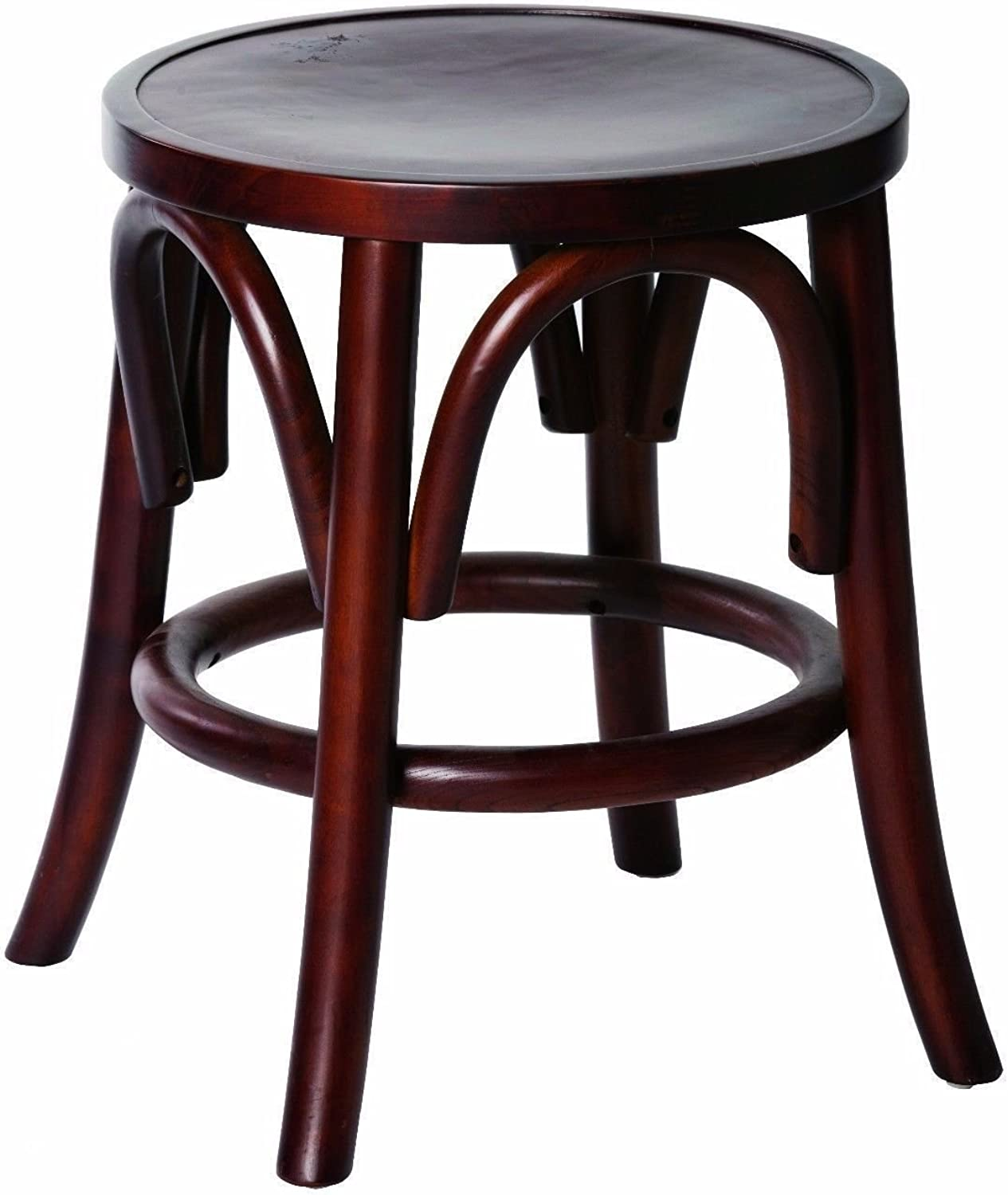Nelson Replica Thonet Bentwood Chair Height Stool 460mm