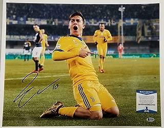 PAULO DYBALA Signed 16x20 Photo Juventus Argentina Autograph A~ Beckett BAS COA - Beckett Authentication