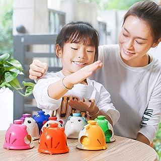 Toys&Hobbies 8 PCS/Set Vvave 8 Tone Sound Floating Hamster Clock, Random Colors Delivery