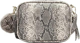 ZLMBAGUS Women Mini Crossbody Wallet Purse Fashion Snakeskin Shoulder Handbags Small Satchel Phone Purse
