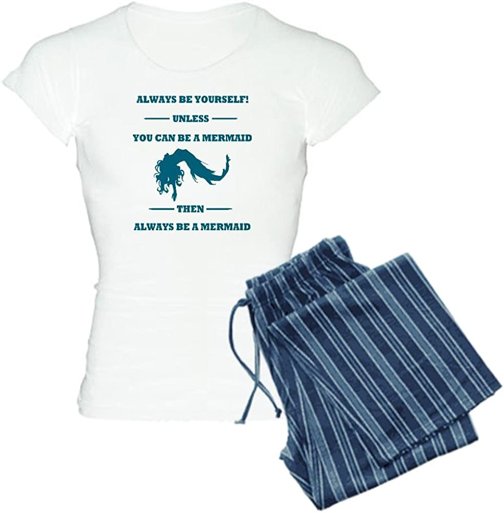 CafePress Always Year-end annual account Be mart A Women's Mermaid Light PJs