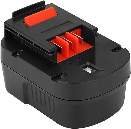 Shentec 12V 3.0Ah バッテリー 互換性のある BLACK+DECKER (ブラック?アンド?デッカー) A12 A12EX A12-XJ A1712 B-8315 BD-1204L BD1204L BPT1047 FS120B FS120BX FSB12 HPB12 スライドバッテリー 互換バッテリー ニッケル水素