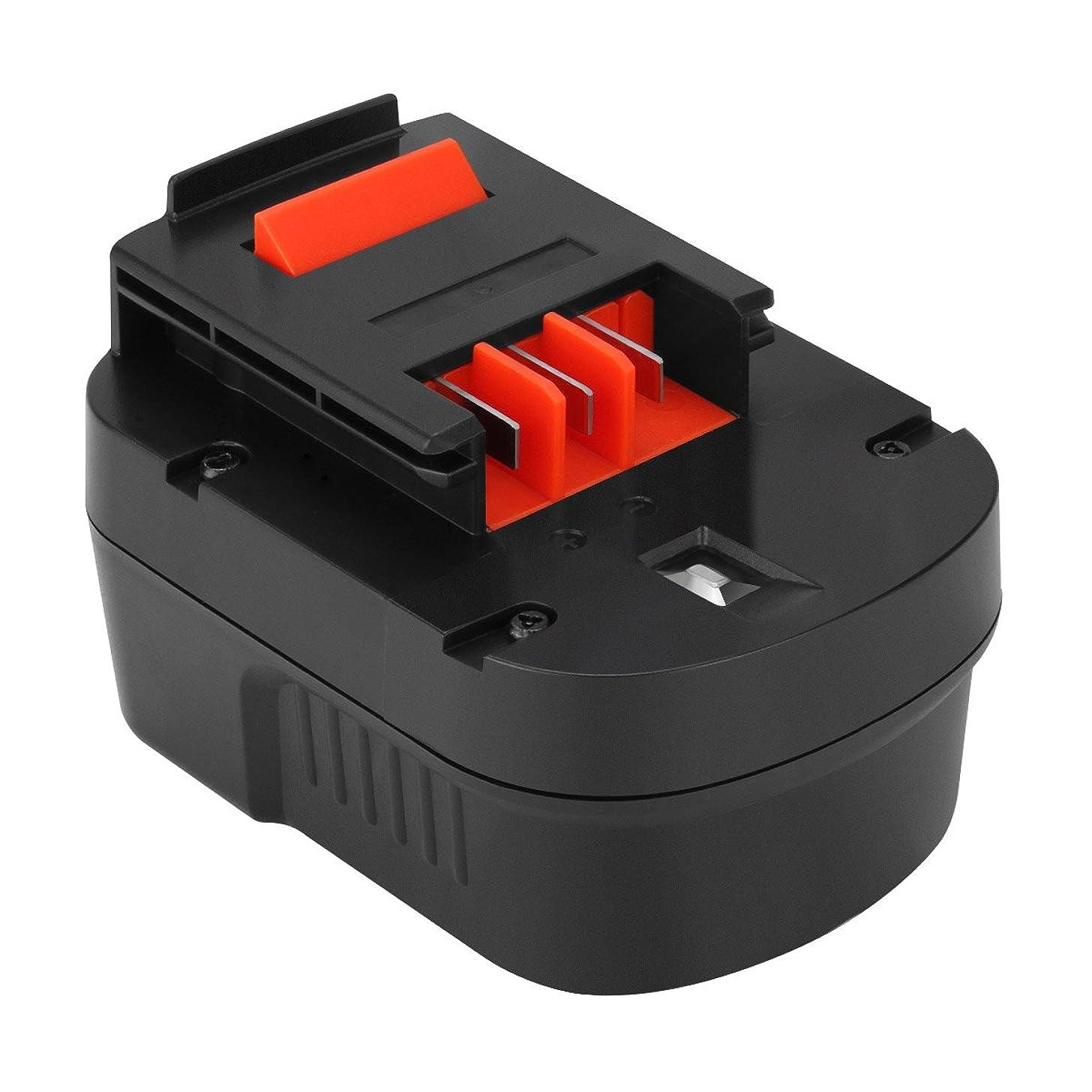 雇用額砂漠Shentec 12V 3.0Ah バッテリー 互換性のある BLACK+DECKER (ブラック?アンド?デッカー) A12 A12EX A12-XJ A1712 B-8315 BD-1204L BD1204L BPT1047 FS120B FS120BX FSB12 HPB12 スライドバッテリー 互換バッテリー ニッケル水素