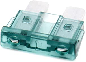 Baomain ATC-1 Clear Green ATO / ATC 1 Amp Fast-Acting Automotive Blade Fuses - 25 Pack