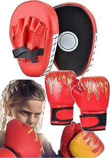 【ec-drive】ボクシンググローブ ボクシング ミット セット 子ども用 大人用 ボクシング グローブ エクササイズ