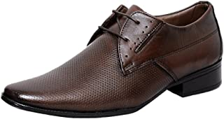 Zoom Shoes for Mens Boots Genuine Leather Shoes and Formal Shoes S-7653 Brown Shoes