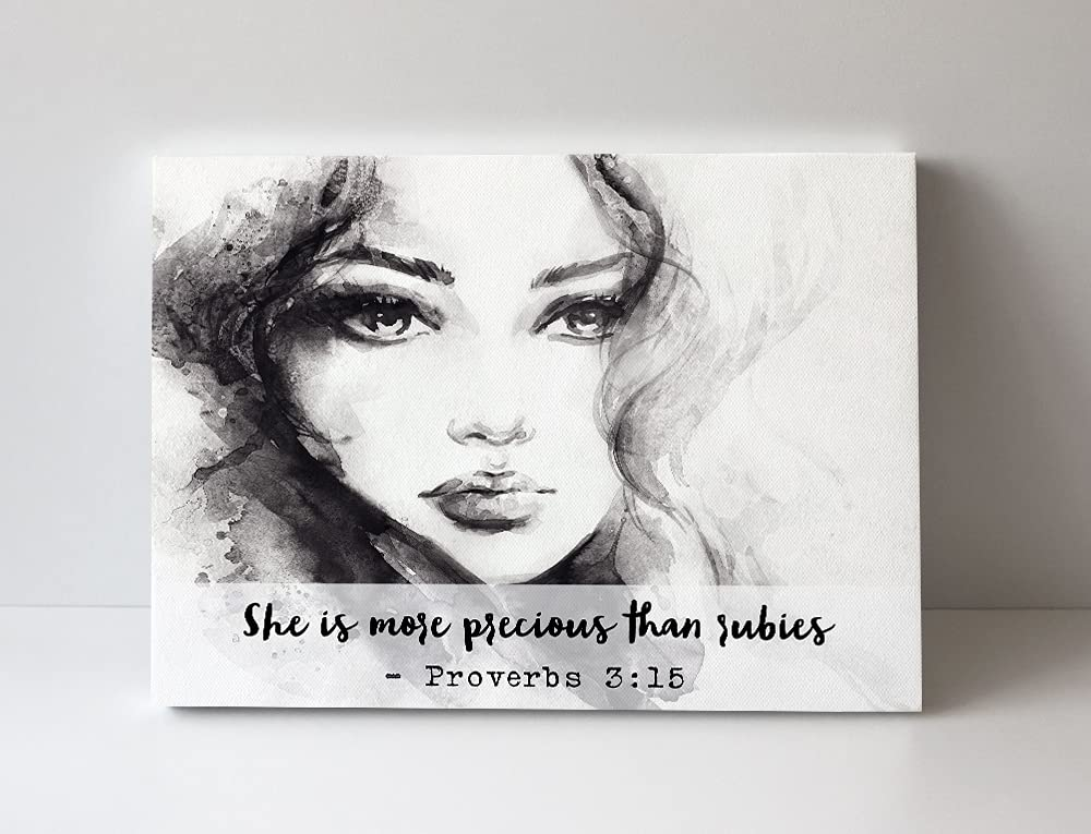 Religious Wall Art Canvas for Teen Girl Max 77% OFF is t shipfree More Precious - She