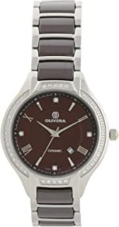 Olivera Casual Watch Analog for Women, Stainless Steel, OL1369