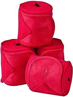 WEATHERBEETA Fleece Bandage 4 Pack Ruby 3.5M Horse Rug