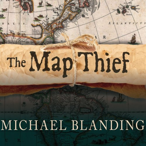 The Map Thief audiobook cover art