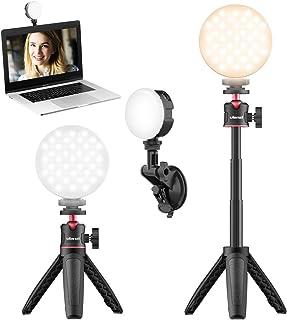 Ulanzi LEDビデオ照明キット LEDビデオライト ソフトライト 2000mAh 調光可能パネル iPhone iPad GoPro OSMOポケット YouTube生放送/自撮り補光/カメラ写真ビデオ用照明