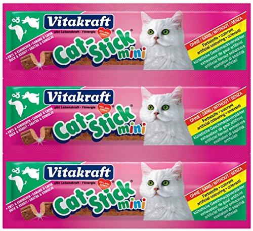 Vitakraft Mini Cat Stick – Pato y Conejo ✅