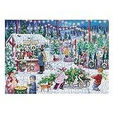 GJH Puzzles Adultos Puzzles 1000 Piezas Puzzle Juguetes Niños Puzzles Juego de Rompecabezas Juguete Educativo Patrón de Navidad Jigsaw Puzzle (C 1000 Piezas, 2 mm)