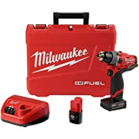 Milwaukee M12 FUEL Lithium-Ion 1/2 in. Cordless Hammer Drill Kit