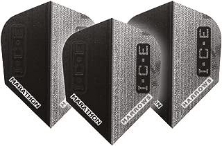 3 jeux par paquet F7122 Carbon Silver Std ailettes de flechettes 9 vols au total