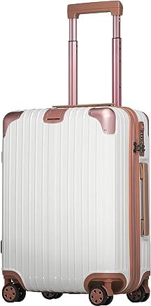 スーツケース ファスナー 機内持込 軽量 超消音 ダブルキャスター 8輪 TSA キャリーケース キャリーバッグ