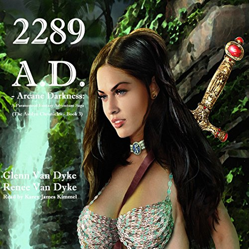 2289 A.D. audiobook cover art