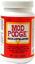 Mod Podge Waterbase Sealer, Glue and Finish (8-Ounce), CS11201 Gloss Finish (3 Pack)