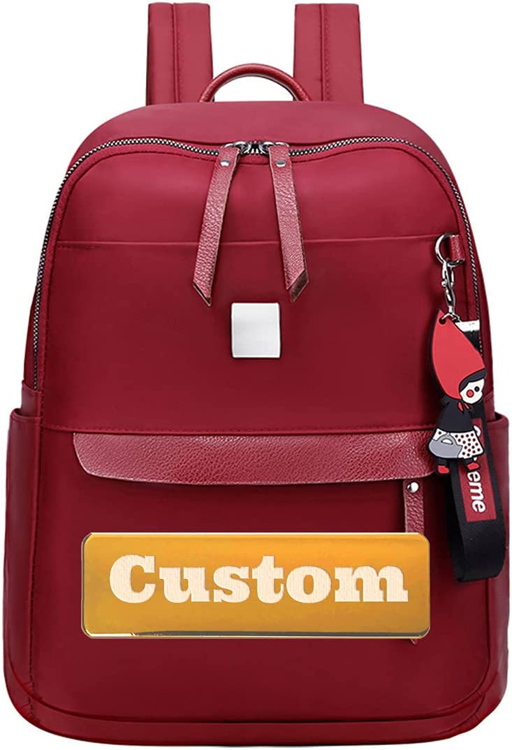 2021 autumn and winter new ZYNX Personalized Custom Complete Free Shipping Name Professional Backpack Women for Pu