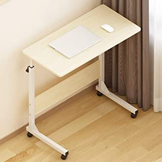 Table Notebook Laptop Desk Portable Standing Bed Sofa Table Multifunction Height Adjustable Pulley Lazy Students Learn, 12...