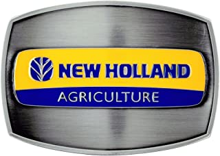 New Holland Agriculture Pewter Belt Buckle, Licensed