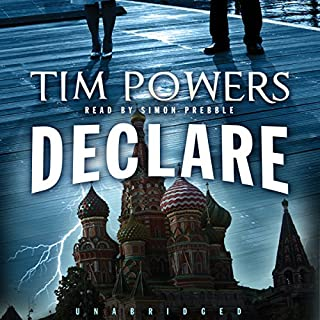 Declare audiobook cover art