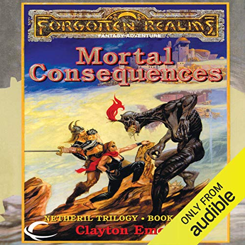 Mortal Consequences audiobook cover art