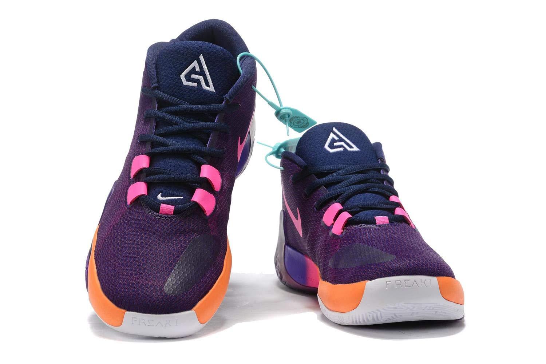 Basketball Sports Shoes Purple/Orange