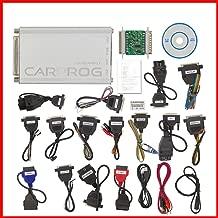 Yourshops OBDII Scan Tool CARPROG V10.93 Full ECU Airbag Reset Detector Full Set 21 Connector Accessories 1Set