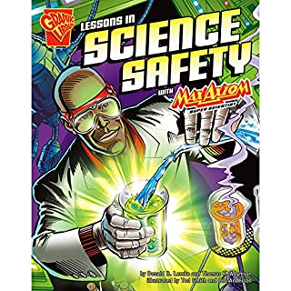 Lessons in Science Safety with Max Axiom, Super Scientist cover art