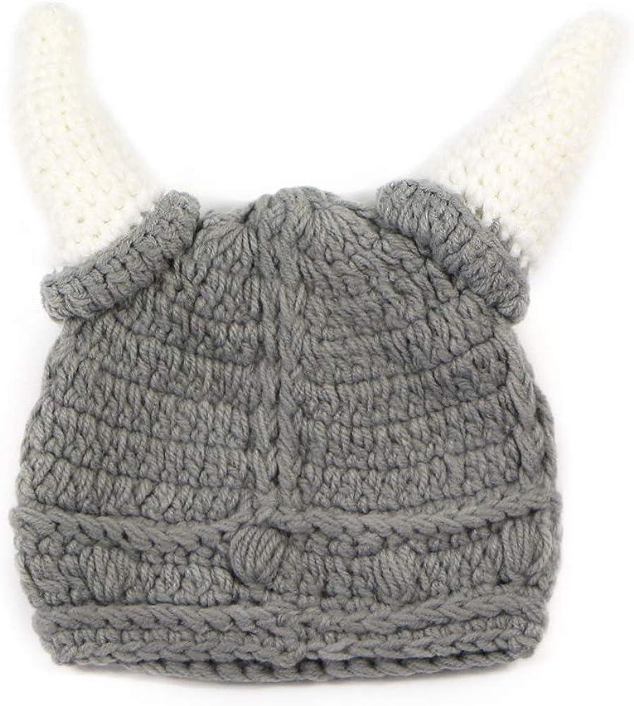 YEKEYI Cheap SALE Start Baby Adult Viking Knit Hat B Barbarian Cap Crochet Beanie Free Shipping New