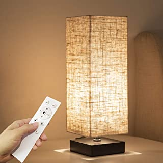 TENGEE 間接照明 テーブルランプ デスクライト インテリア照明 LEDライト 調光調色 リモコン電球付属 常夜灯モード付き 寝室 おしゃれ